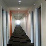 Motel 6 3rd floor hallway