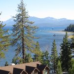 View of Lake Tahoe from Pepper Tree Inn
