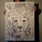 Lion by Sammy Head