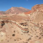 """The Hike"" on the way to Cafayate"