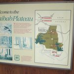 sign and map