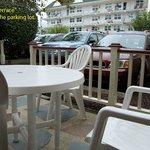 Room 414 lovely terrace