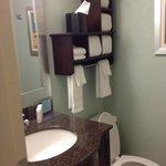 Small Bathroom & Shower