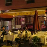 Sofia's of Little Italy with outdoor seating for the festival