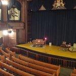 Dock Street Theatre stage