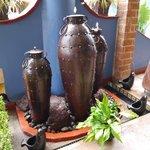 Beautiful tin made pots