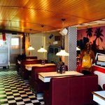 The new opened locals for Roll & Rock Diner