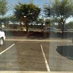 View of carpark