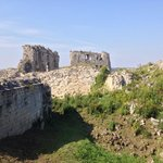 Ruines du château de coucy.