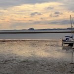 Holy Island harbour