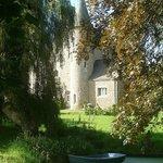Vue château depuis le petit étang