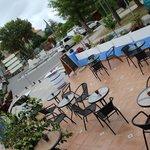 terraza en la Plaza de la Villa