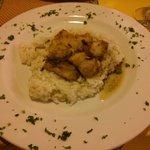 risotto al pesce persico