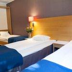 Double room with extra bed. Spar Hotel Gårda