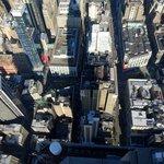 Вид на отель с Empire State bldg - нижний левый угол