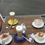Coffe by the water