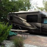 RV on site at Buttonwood