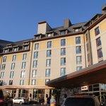 ホテル正面。いかにも高級ホテルという雰囲気