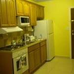 You can dine in your room; a fully equipt large kitchen with a dining area by the bedroom area.