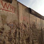 Remains of Berlin Wall close to hotel