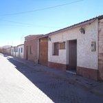 San Pedro de Atacama, Chile, Hostal Inti Para. Fachada calle Tocopilla.