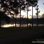 dawn at New Campground