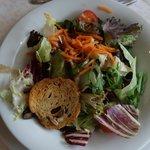 Bunt gemischte Blattsalate