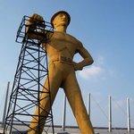 Tulsa's Golden Driller