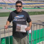 170.67 mph- Received a certificate ad T-shirt (had to purchase)