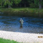 Fly Fishing on the River Ness