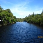 View of the River Ness from a Walk Bridge