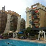 Westlicher Hotelbereich