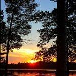 A sunset captured by Paula Walsh!