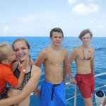 Kids on the Catamaran