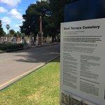 West Terrace Cemetery entrance