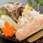 福島食材の会席料理