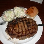 Steak Dinner with Cole Slaw