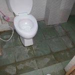 Dirty & Leaking Toilet very smelly