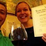 Graduation Tuscan Wine School