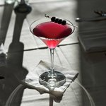 Our own Maine Blueberry Martini