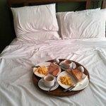 Wonderful breakfast in bed!