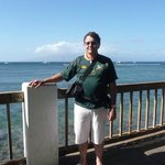At Lahaina Harbour.