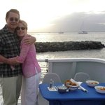 Departing on a sunset dinner cruise from Lahaina.