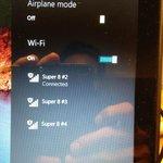 No Functioning Wi-Fi signals