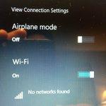 No Wi-Fi Signal after Re-Set Server