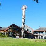 The Hotel Totem Pole