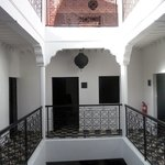 The riad bedrooms