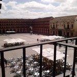 vista del balcon