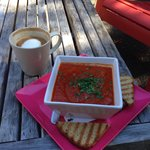 Great coffee and the lunch was amazing!! I will return when ever in the area.