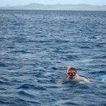 Snorkeling off Klein Bonaire